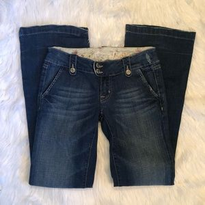 [Miss Me] Blue Jean Denim Flare - Size 26